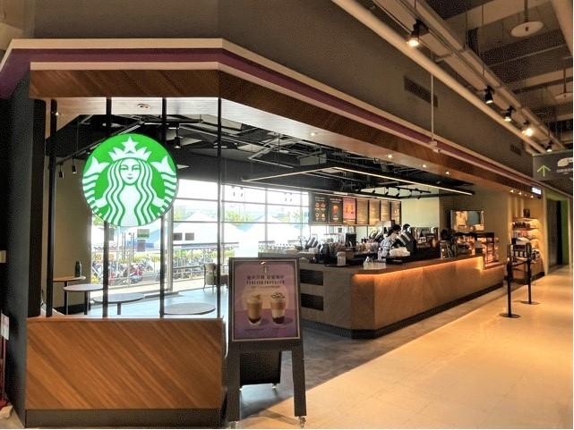 Starbucks 星巴克 》仁德家樂福門市 盛大開幕活動!消費享滿額贈!【2021/9/8 起】