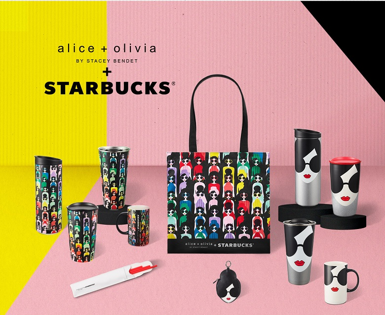 Starbucks 星巴克 》Alice + Olivia + STARBUCKS聯名商品銷售辦法說明【2021/9/23 起】